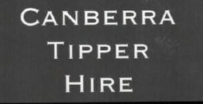 Canberra Tipper Hire